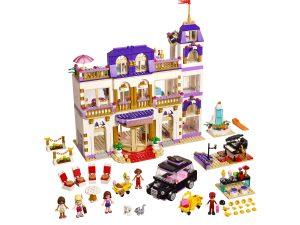 Costruzioni LEGO Friends 41101 - Il Grand Hotel di Heartlake