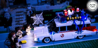 LEGO Ideas Ghostbusters Ecto 1 - LED Light My Bricks