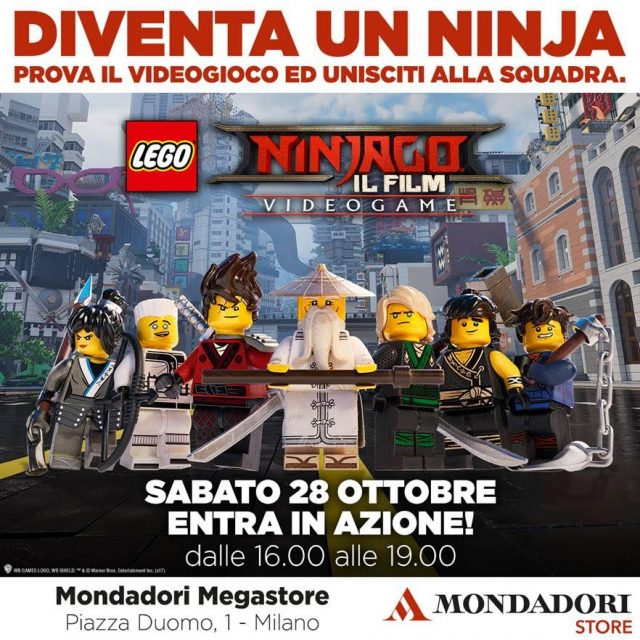 Lego Ninjago Evento Milano
