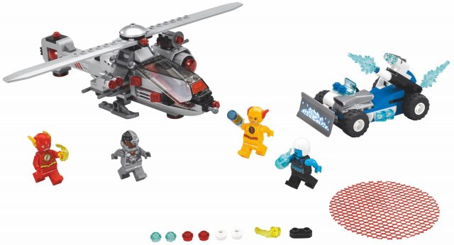 LEGO DC Comics Super Heroes 76098 - L'inseguimento Congelante Della Speed Force