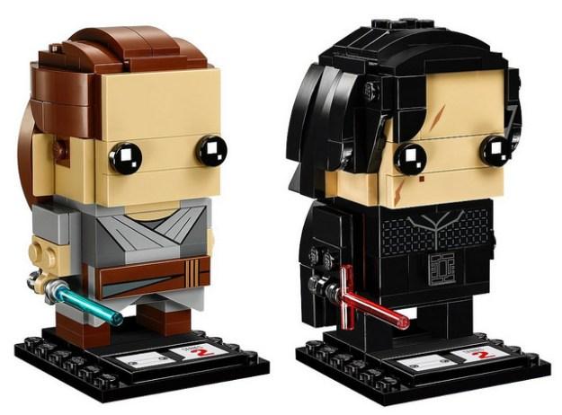 LEGO Brickheadz Star Wars Rey e Kylo Ren (41489)