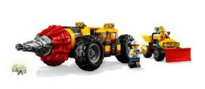 LEGO City 60186 Mining Heavy Driller