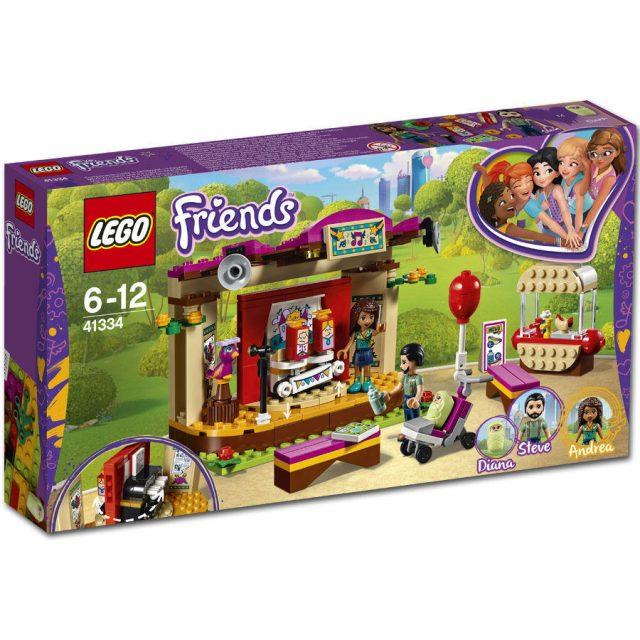 LEGO Friends -Andrea's Park Performance (41334)