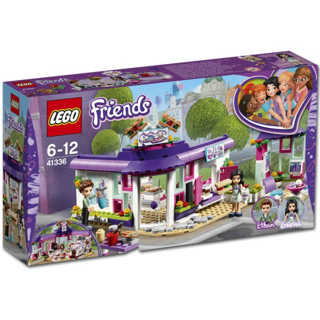 LEGO Friends -Emma's Art Cafe (41336)