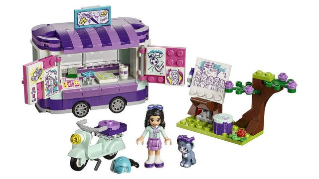 LEGO Friends - Emma's Art Stand (41332)