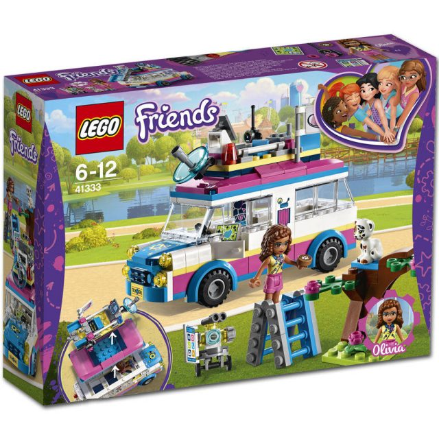 LEGO Friends - Olivia's Mission Vehicle (41333)