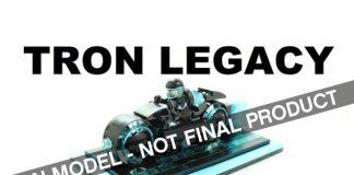 LEGO Ideas TRON Legacy Light Cycle
