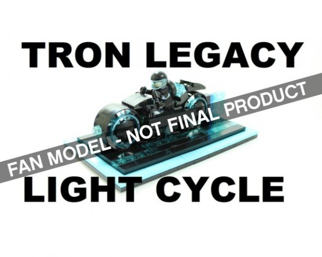 LEGO Ideas TRON Legacy Light Cycle