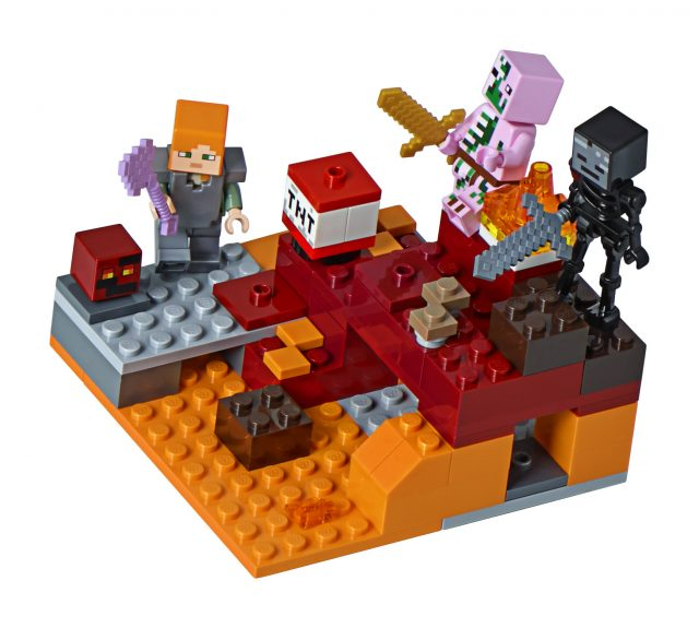 LEGO Minecraft 21139 - The Nether Fight