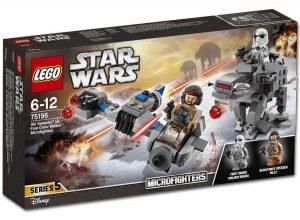 LEGO Star Wars 75195 Ski Speeder vs First Order Walker