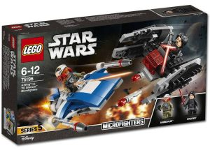 LEGO Star Wars 75196 A-Wing vs Tie Silencer