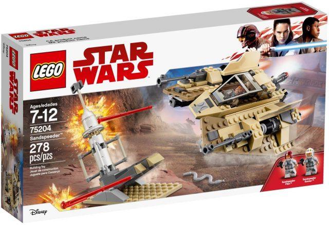 LEGO Star Wars Sandspeeder (75204)