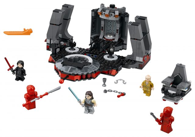LEGO Star Wars Snoke's Throne Room (75216)