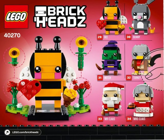 LEGO BrickHeadz Stagionali 2018