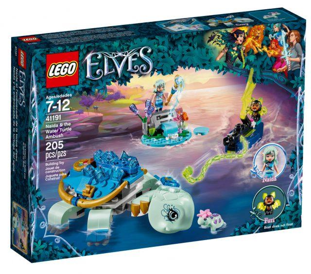 LEGO Elves Naida & the Water Turtle Ambush (41191)