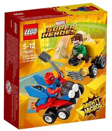 LEGO Mighty Micros: Scarlet Spider vs. Sandman (76089)
