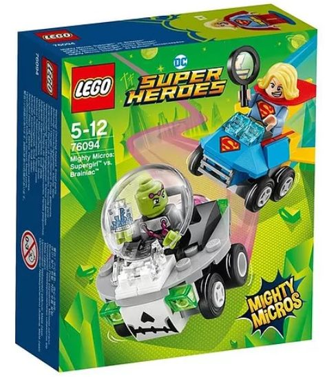 LEGOMighty Micros: Supergirl vs. Brainiac (76094)