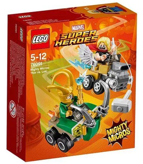 LEGO Mighty Micros: Thor vs. Loki (76091)
