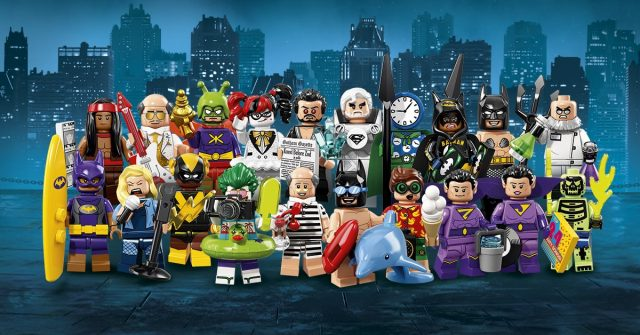 Minifigure LEGO Batman Movie Serie 2 (71020)