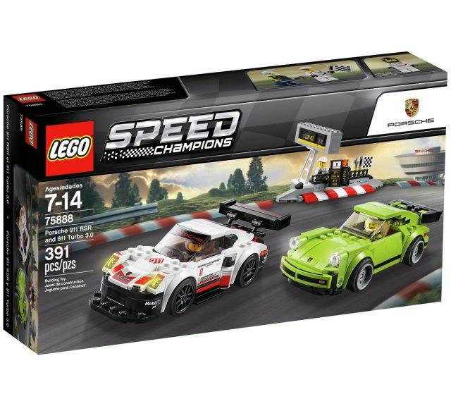 Porsche 911 RSR and 911 Turbo 3.0 (75888)