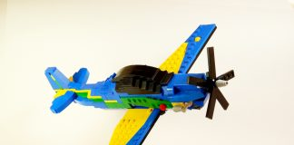 lego ideas Embraer A-29 Super Tucano 2