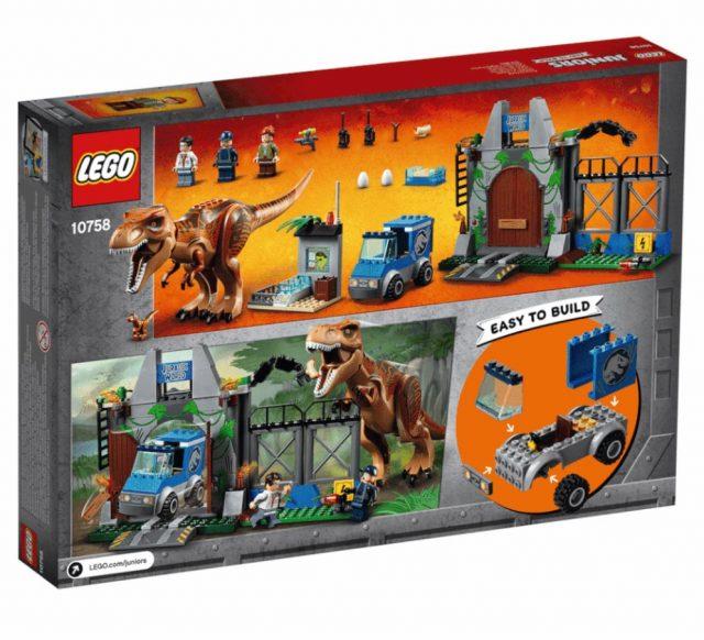 10758 – LEGO Juniors T-Rex Breakout
