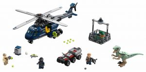 75928 – LEGO Jurassic World Blue's Helicopter Pursuit