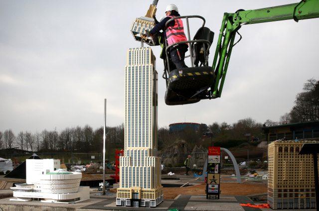 Empire State Building installato nel LEGOLAND Windsor