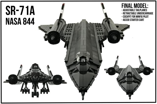LEGO Ideas SR-71A The Final Flight