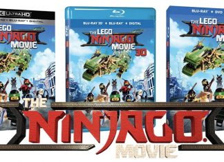 LEGO Ninjago Movie Blue Ray