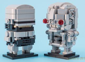 Robocop vs Terminator BrickHeadz