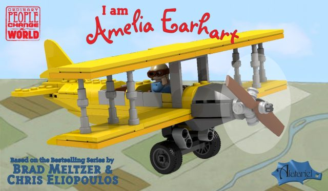 LEGO Ideas I am Amelia Earhart