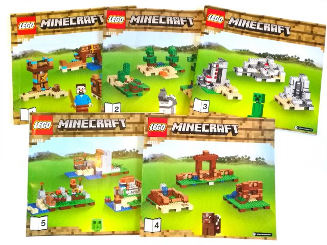 LEGO Minecraft 21135 - Crafting Box 2.0 istruzioni
