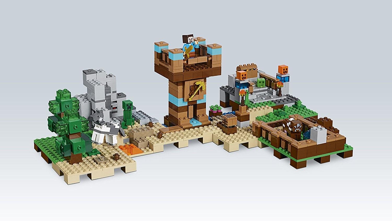 Cancello Di Legno Minecraft : Recensione lego minecraft 21135 crafting box 2.0 mattonito