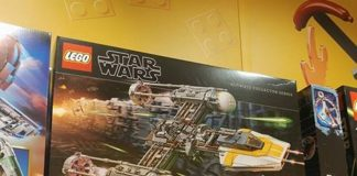 LEGO Star Wars UCS 75181 Y-wing Starfighter ingrandimento