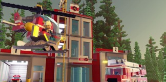LEGO Worlds Fire Station
