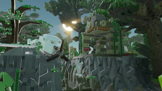 LEGO Worlds Jungle Temple Ruin