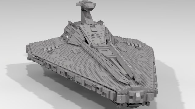 LEGO Ideas Acclamator Class Assault Ship