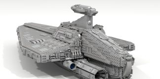 LEGO Ideas Acclamator Class Assault Ship