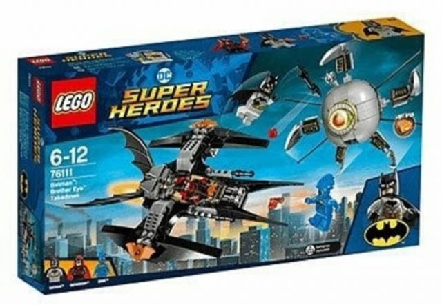 LEGO Super Heroes Batman Brother Eye Takedown (76111)