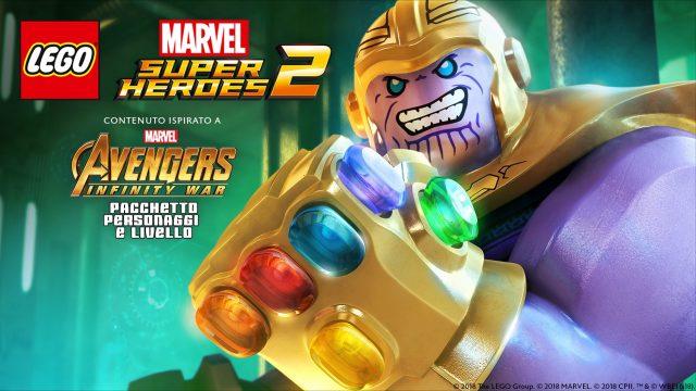 DLC Marvel's Avengers: Infinity War per LEGO Marvel Super Heroes 2