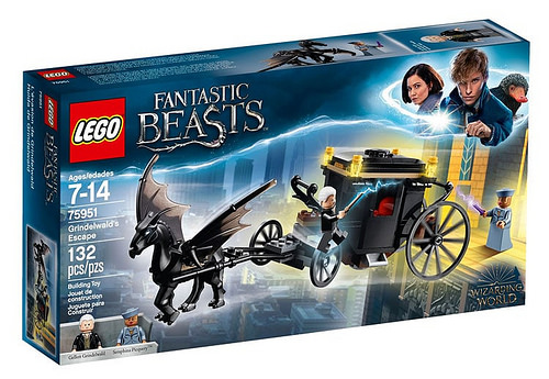 LEGO Harry Potter Grindelwand's Escape (75951)