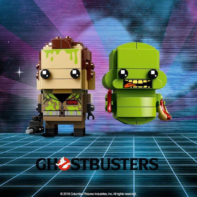 LEGO Brickheadz dei Ghostbusters