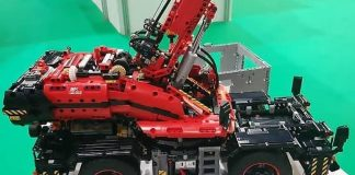 LEGO Technic Rough Terrain Crane (41082)