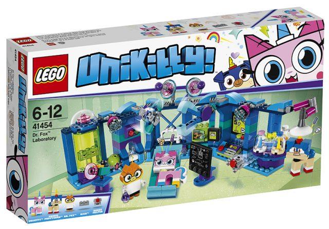 LEGO Unikitty - Dr. Fox Laboratory (41454)