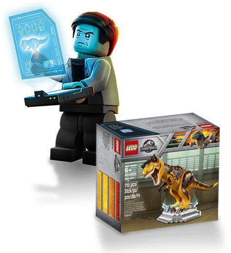 LEGO Jurassic World Raro