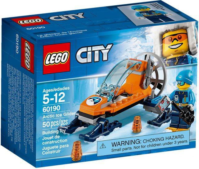 LEGO City 60190 - Mini Motoslitta Artica