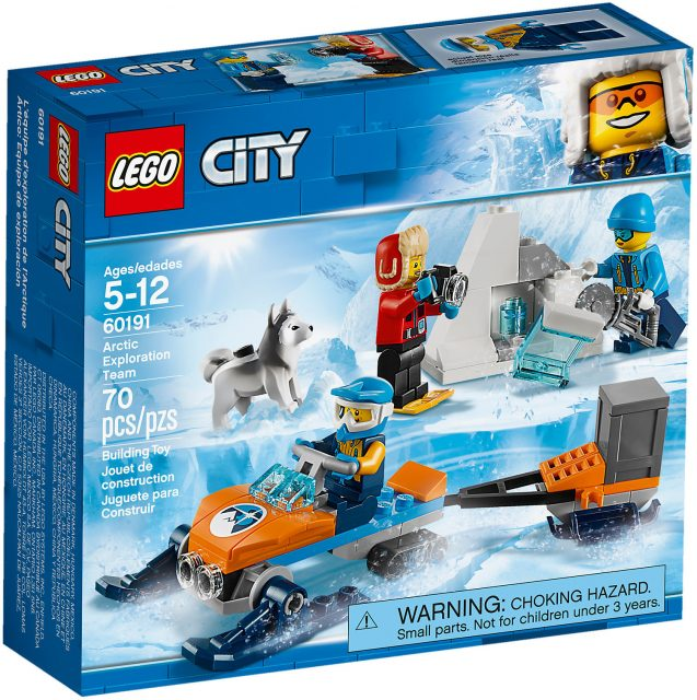 LEGO City 60191 - Team Di Esplorazione Artico