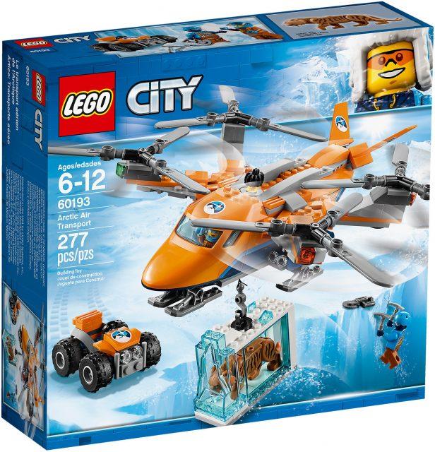 LEGO City 60193 - Aereo Da Trasporto Artico