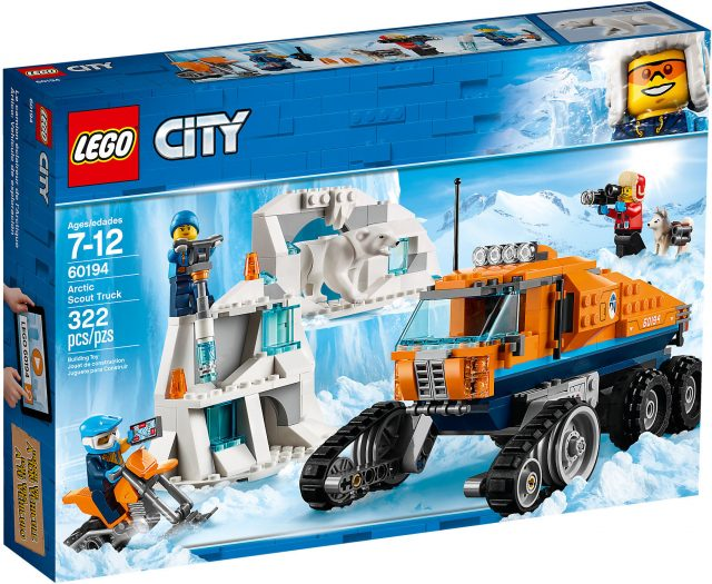 LEGO City 60194 - Gatto Delle Nevi Artico